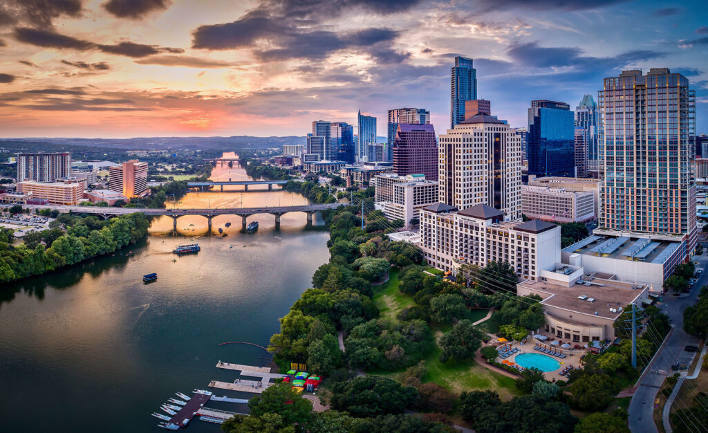 Austin Wedding Venue Owners Working Vacation